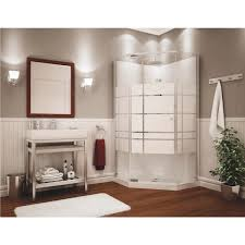 Maax Glass Shower Doors by Maax Begonia Neo Angle Shower 105618 129 Do It Best