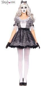 Halloween Baby Doll Costumes Pretty Porcelain Doll Costume Doll Costume Scary Doll Costume