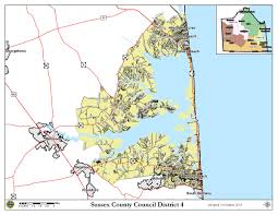 Baltimore City Council District Map Sussex County Delaware Map Image Gallery Hcpr