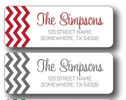 free return address labels template