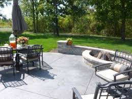 awesome concrete backyard ideas concrete patio ideas for small