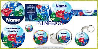 pj masks party supplies kids party supplies
