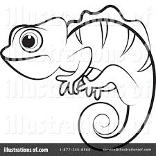 chameleon clipart 1078886 illustration by lal perera