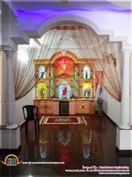 Kerala Christian Prayer Room Designs