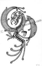 fighting eagle tattoo example by vuorazas tattoomagz