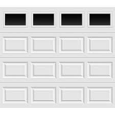 clopay garage door seal clopay premium series 8 ft x 7 ft 18 4 r value intellicore