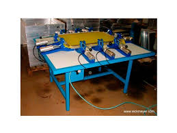 Stretching Table Pneumatic Screen Stretching Device 50 60x70 80 Siebdruck