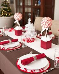 20 collection of christmas table setting ideas coolection of