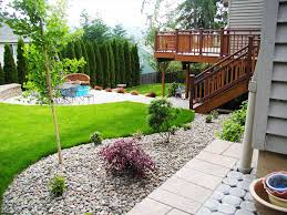 a budget easy backyard landscape for backyards banquette dining
