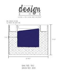 King Size Bed Dimensions In Feet Rug Size Guide U2013 Caitlin Wilson