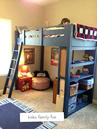 Cool Bunk Bed Plans Great Luxury Bunk Bed With And Desk Or Cool Pull Out Bunk