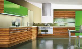 Kitchen Furniture Canada High End Fiber Woodgrain Laminated Kitchen Cabinet With Uv