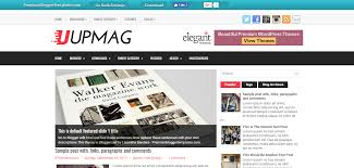 free magazine blogger template june 2017 free magazine blogger templates