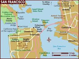 san francisco map map of san francisco