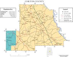 Colorado Map Of Counties by Chilton County Alabama History Adah