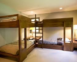 Built In Bunk Bed Plans Bedroom Cool Amazing Built In Bunk Beds Sugar And Charm Sweet