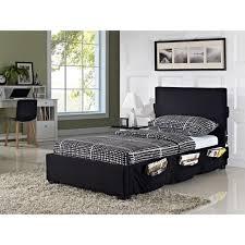 cargo twin platform bed black walmart com