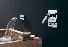 mem wall mounted waterfall bath spout by dornbracht stylepark