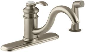 fairfax 3 hole kitchen sink faucet with 9