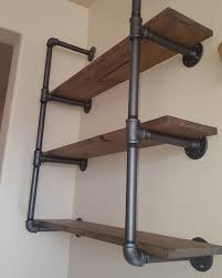 Building Solid Wood Bookshelf by How To Make A Freestanding Industrial Pipe Bookcase Pipes
