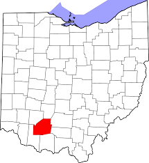 Map Of State Of Ohio by File Map Of Ohio Highlighting Highland County Svg Wikimedia Commons