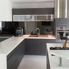 credence cuisine miroir credence cuisine miroir sur mesure cuisine idées de décoration