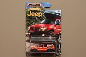 jeep matchbox matchbox 2016 jeep anniversary edition jeep grand cherokee
