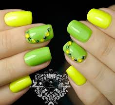 45 yellow nail art designs ring finger nails ring finger and