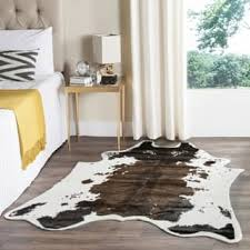 Faux Cowhide Area Rug Cowhide Rectangle Rugs U0026 Area Rugs For Less Overstock Com