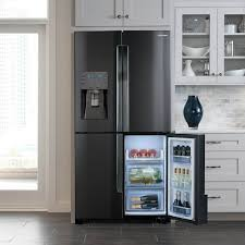 gray kitchen cabinets with black stainless steel appliances 12 stylish kitchen trends of 2019 newhomesource