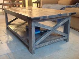 table ana white rustic x coffee table with minwax classic gray stain