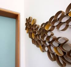 Modern Wall Art Diy Modern Take On Wall Craft Art Paper Plant Pinterest