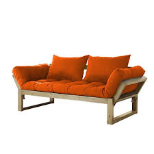 amazon com fresh futon edge convertible futon sofa bed natural