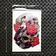 online buy wholesale skull roses tattoo sleeve from china skull