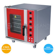 combi oven electric 5 trays gn 2 3 manual control manual