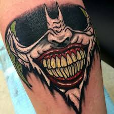 if you thought the joker u0027s tattoos were insane check out these 10