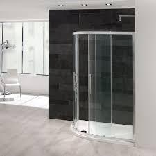 1400 Shower Door Offset Quadrant Shower Enclosure G6 1400 X 800