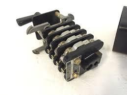 general electric type sb rotary control cam switch 16sb1db317sus4y