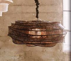 Thai Home Decor by Bamboo Cloud Chandelier Thai Traditional Fishermen Bamboo Weaving