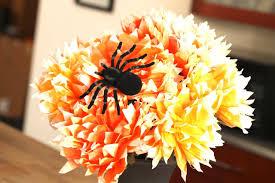 halloween paper flower arrangement youtube