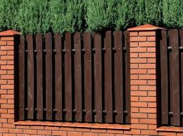 Garden Fence Types - best 25 brick fence ideas on pinterest fence ideas fencing and