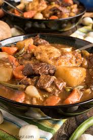 beef stew with dumplings a family feast