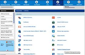 sbi savings account how to transfer your sbi account to another