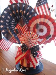 inexpensive 4th of july table centerpiece 11 magnolia lane