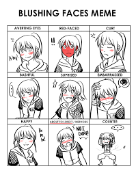 Blushing Meme - blushing faces meme kiki hyuuga by la mishi mish on deviantart