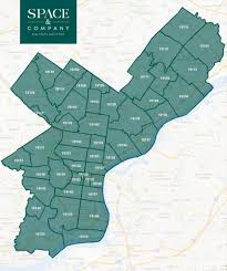 Zip Code Maps by Space And Company Real Estate Philadelphia Real Estate