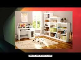 South Shore Axess Bookcase South Shore Axess Collection Desk Pure White Youtube