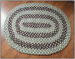 Chenille Braided Rug Oval Rugs 7 9 Roselawnlutheran