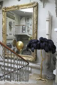 the ostrich feather l black a modern grand tour details