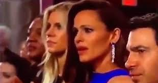 Oscars Meme - oscars 2018 jennifer garner becomes viral meme people com